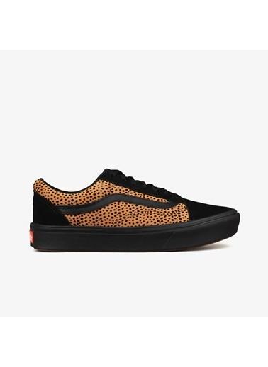 Vans Ua Comfycush Old Skool Erkek Kalın nlı Sneaker Siyah